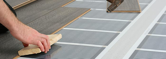 houten vloer vloerverwarming Leek
